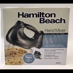 Brand New Hamilton Beach Hand Mixer